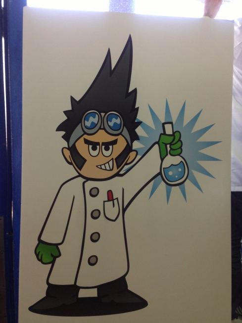 Chemist from NYC Tech Day (google???)